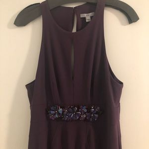 ZAC Zac Posen Dresses - Zac Posen Shadow Purple Gown